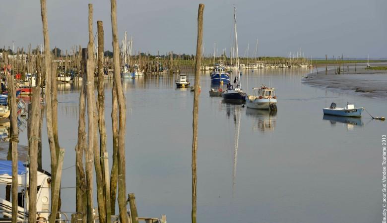 Le port de l'Aiguillon sur Mer Sud Vendée