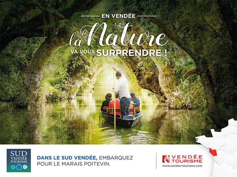 Campagne communication 2017 Sud Vendée Tourisme